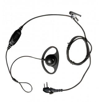 """Mikrofonogłośnik HYT EHM15 słuch. nauszna typu """"D-"""