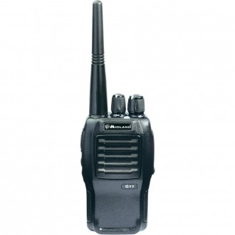 Radiotelefon PMR MIDLAND G11-S 1szt+ład+accu 1600L