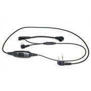3M MT661 Kabel z PTT i mikrofon na pałąku złącze 2pin