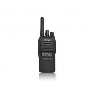 ICOM IC-F2000S UHF IP67 radiotelefon profesjonalny wyświetlacz, 128kan. 1szt+ład+accu 1570mAh Li-Ion