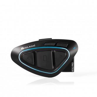 MIDLAND BTX2 PRO Twin Interkom Bluetooth 4.2 + DSP