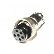 Wtyk mikrofonowy 6 PIN NC-518