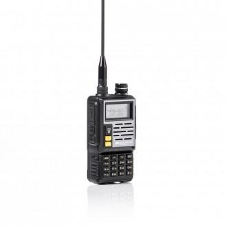 MIDLAND CT-690 VHF/UHF Radiotelefon amatorski 2m + 70cm 1szt. + accu, blackfull duplex, repeater, scrambler