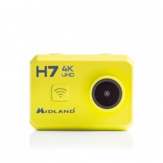 Kamera akcji MIDLAND H7 Ultra HD 2`LCD wodoszczelna+elem.mocowania+accu 1000