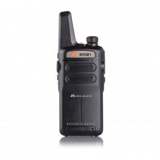 Radiotelefon PMR MIDLAND BR01 IP67 1szt+ład+accu 1600Li-Ion