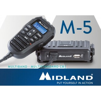 Radiotelefon CB MIDLAND M-5 REMOTE MICR. AM/FM