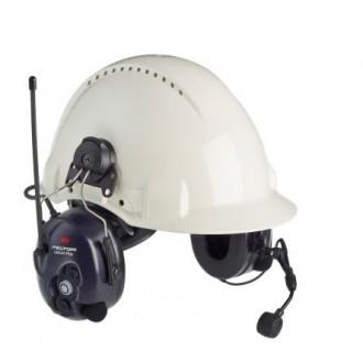 3M PELTOR LiteCom Plus ,PMR 446 - nahełmowy ochronnik słuchu z radiotel.