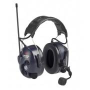 3M PELTOR LiteCom Plus PMR- nagłowny aktywny ochronnik słuchu z radiotelefonem.