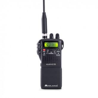 Radiotelefon CB ALAN-42 DS AM/FM-GW ręczne digital squelch