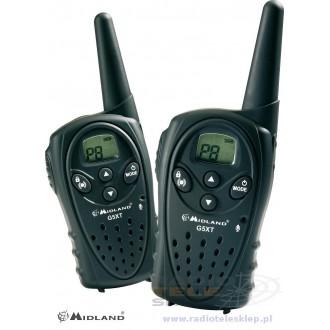 Radiotelefon PMR MIDLAND G5-XT kpl=2szt+1ład+accu+